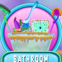 BATHROOM CLEAN AND DECO Jugar
