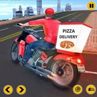 FAST PIZZA DELIVERY BOY GAME 3D Jugar
