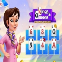 KINGS AND QUEENS SOLITAIRE TRIPEAKS Jugar