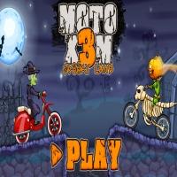 MOTO X3M SPOOKY LAND Jugar