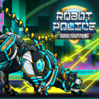 Robot Police Iron Panther Jugar