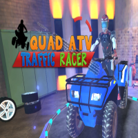 Traffic Racer Quad Bike Game Jugar