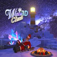 Winter 3D Clash Jugar